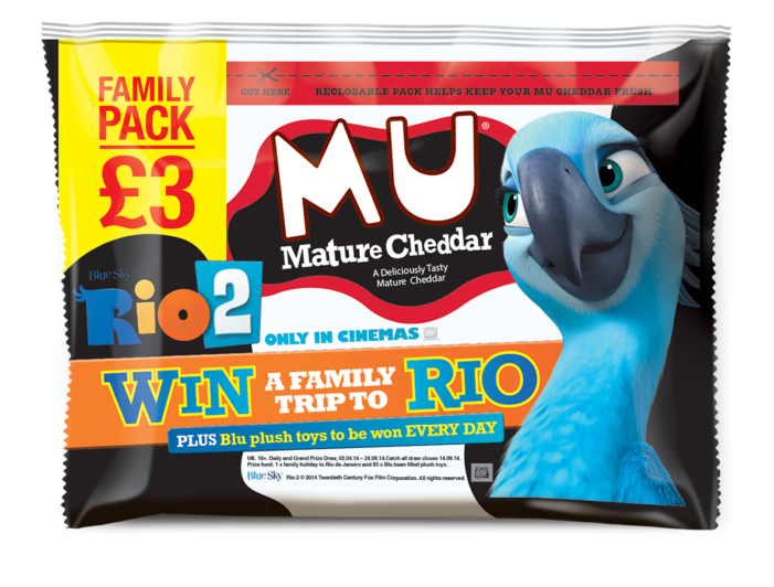 Blue Chip Secures Rio 2 Movie Tie-up for MU