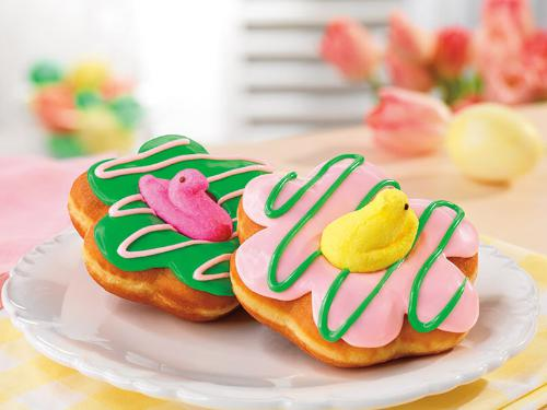 Dunkin' Donuts Introduces New PEEPS Donuts