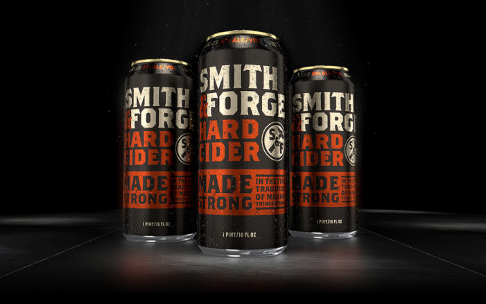 Presenting Smith & Forge Hard Cider: A Sturdy Drink For The Hardy Gent