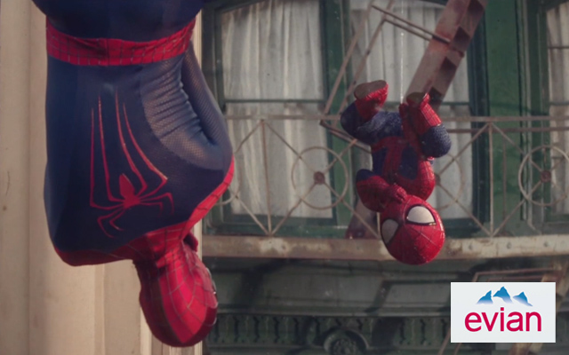 "evian Debuts Short Film ""The Amazing Baby & Me 2"" Featuring Spider-Man"