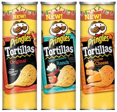 New Pringles Tortillas Give Partygoers The Choice To 'Dip 'Em Or Don't'