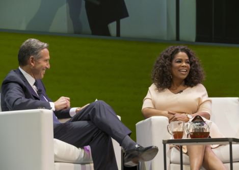 Starbucks & Oprah Winfrey Team to Create Teavana Oprah Chai Tea