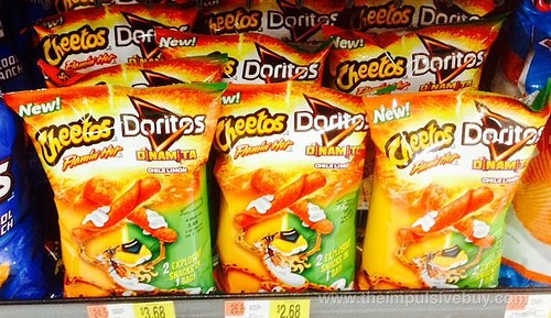 Cheetos & Doritos Form A New Spicy & Crunchy Snack Combo