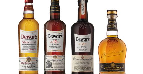 Dewar's Launches New Packaging & Bottle Design