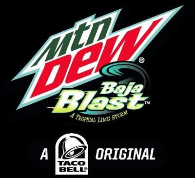 Mountain Dew & Taco Bell Introduce New Limited Edition Bottle: Mtn Dew Baja Blast