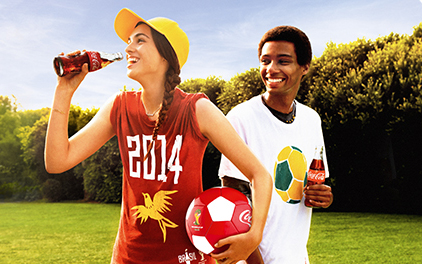 Coca‑Cola Launches Football Promotion To Celebrate 2014 FIFA World Cup