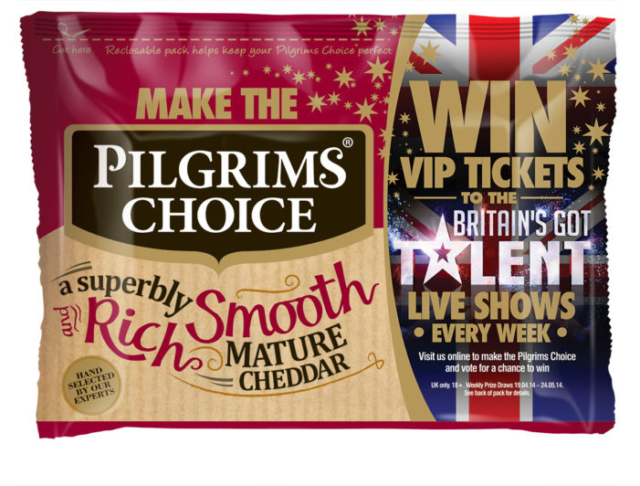 Blue Chip Helps Create 'Britain's Got Talent' Partnership for Pilgrims Choice