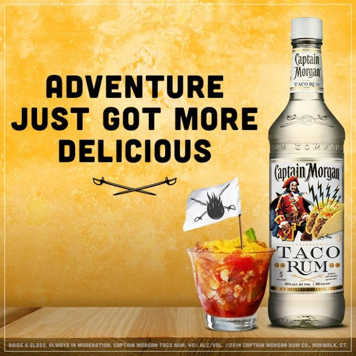 """Captain of All Rum Spices Up """"Taco Tuesday"""" Fiestas"""