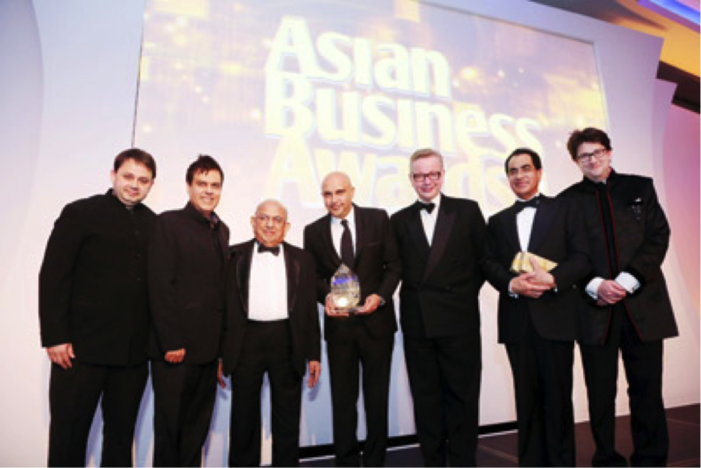Chakra Honoured At The 2014 Asian Business Awards
