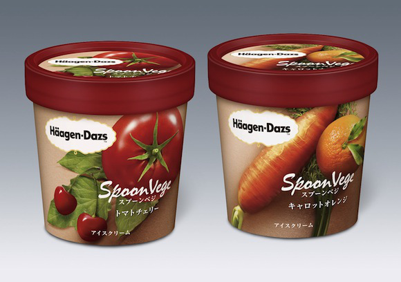 Häagen-Dazs Unveils Carrot And Tomato-Flavored Ice Cream In Japan