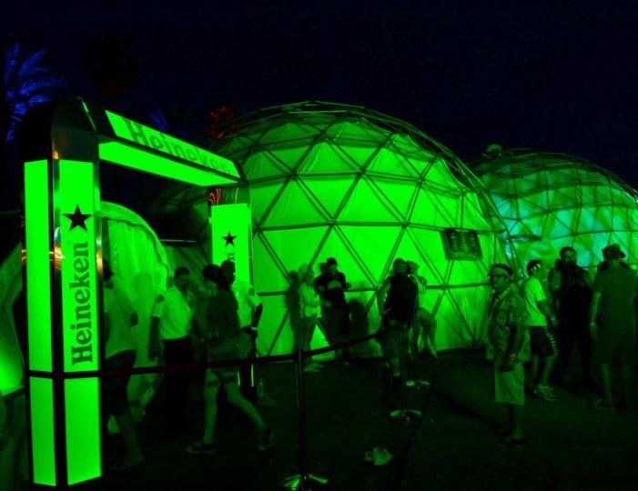 Heineken House Makes Coachella Debut