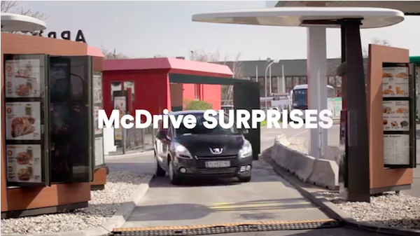 McDonald's Replaces Drive-Thru Staff With Quirky Characters