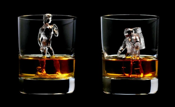Intricate Ice Cube Figurines That Make Your Drinks Look Like Works Of Art