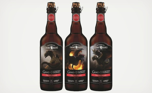 A Set Of Beer Inspired By The Targaryen House In 'Game Of Thrones'