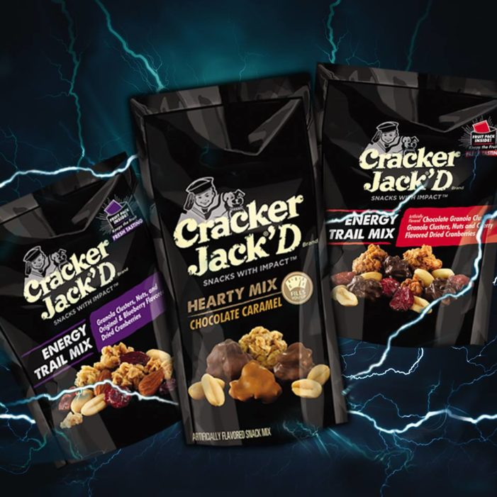 Cracker Jack'D Amps Up Snacking With New On-The-Go Energy Trail Mixes