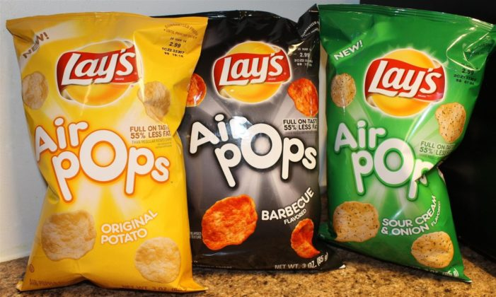 Lay's Air Pops Crisps 'Pop' Into Additional Markets With New Salt & Vinegar Flavour