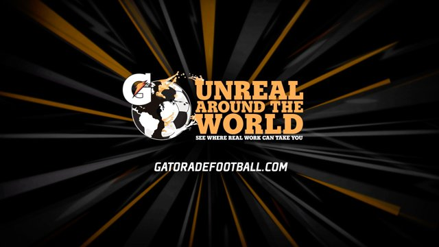 Gatorade Seek World's Best Footballers who Turn Real Work into Unreal Performance