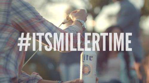 Miller Lite Asks Beer Drinkers To 'Show Us Your Miller Time'