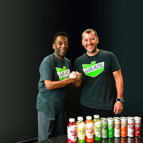 Golazo & Football Legend Pele Score Big with New Partnership