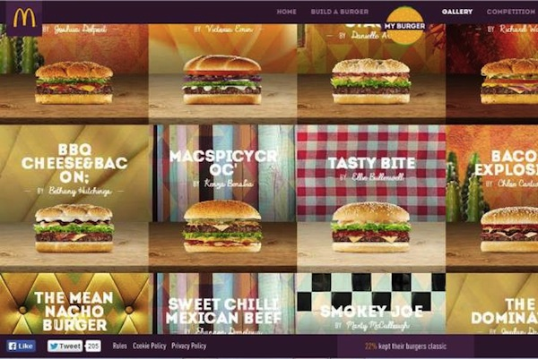 McDonald's Invites Fans To Create Their Dream Burgers, To Be Sold In Stores