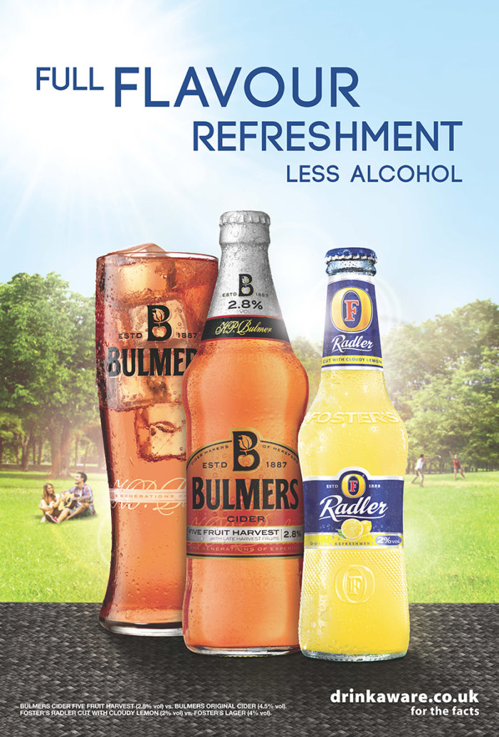 Space Creates 'Full Flavour Refreshment' Campaign For Foster's & Bulmers