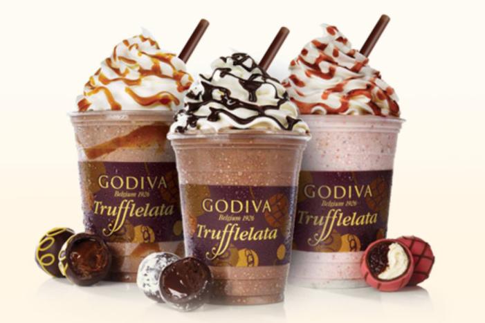 Godiva Chocolatier Introduces New Frozen Beverage For Summer: Trufflelata