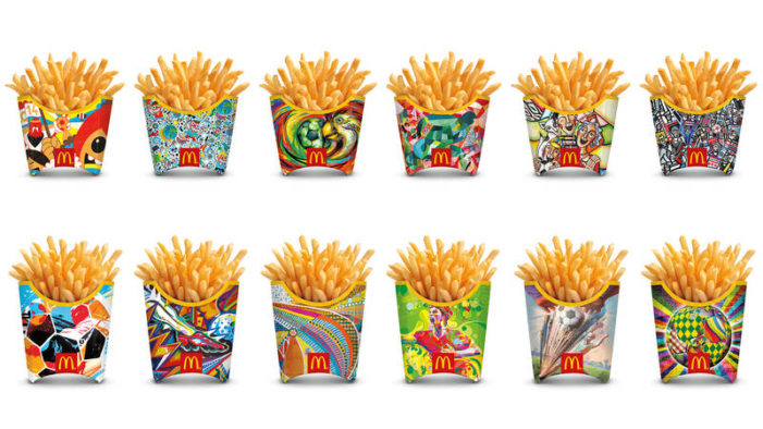 McDonald's Kicks-Off FIFA World Cup With First-Ever Global French Fry Packaging Redesign