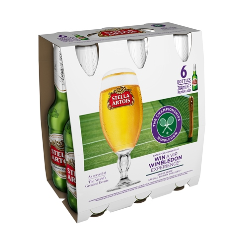 """Wimbledon to be Celebrated in Stella Artois's """"World's Greatest Events"""" Campaign"""