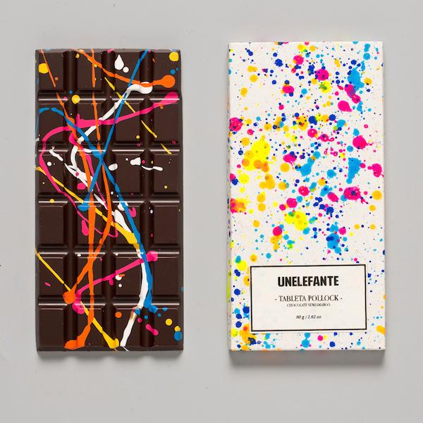 Edible Modern Art: Beautifully Designed Chocolates Look Like Colorful Paintings