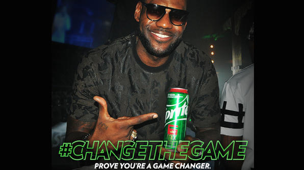 Sprite & LeBron James Reward Dedicated Individuals Who Change The Game