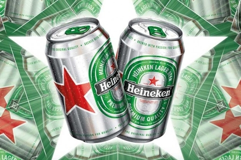 Heineken Launches New Can Design