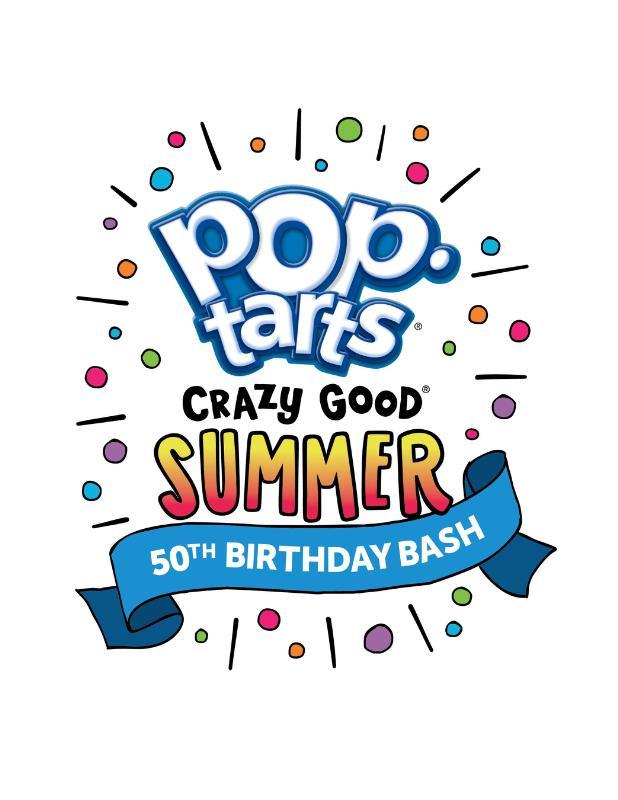 Pop-Tarts Celebrates 50th Birthday with a Crazy Good Summer Bash