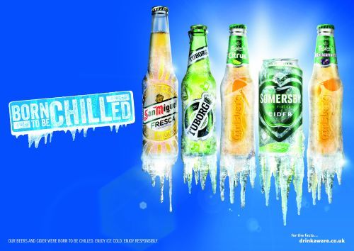 "Carlsberg is ""Born to be Chilled"" In The Marketing Store's New Campaign"