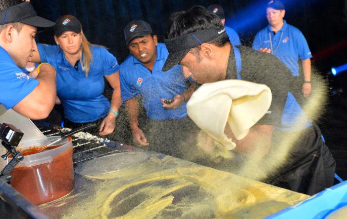 Domino's Pizza Crowns 'World's Fastest Pizza Maker'