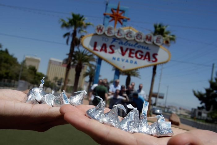 Hershey's Chocolate World Retail Experience is Unwrapped on Iconic Las Vegas Strip