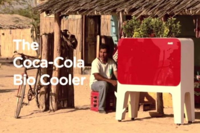 Coca-Cola Invented A Fridge That Chills Drinks Without Power