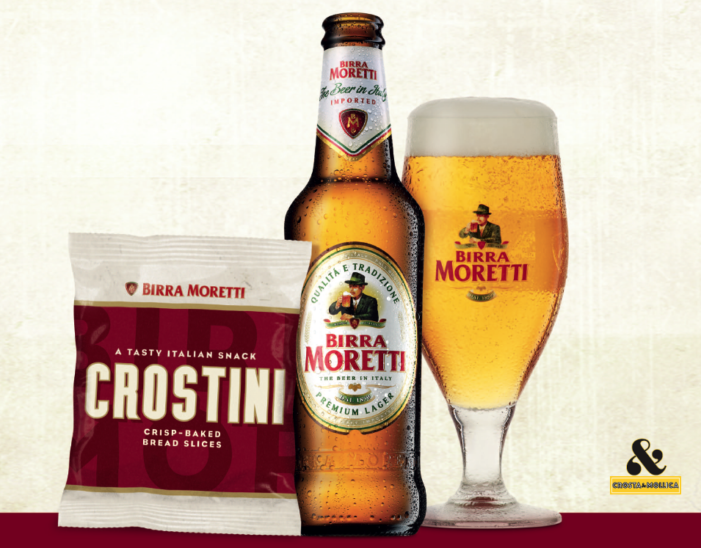 Crosta & Mollica Partners with Birra Moretti for National On Trade Summer Promotion