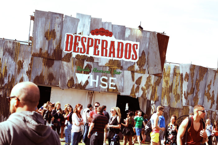 Space Leads 'Detonating' Activation at Festivals for Desperados