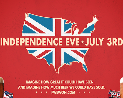 "Newcastle Brown Ale Celebrates Made-Up Holiday ""Independence Eve"""
