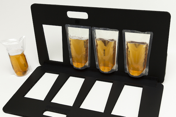 Innovative, Minimalist Packaging Design Puts Beer In Clear Plastic Bags