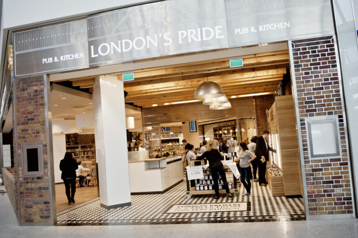 Caulder Moore Help Fullers Open Their First Ever Airside Pub in Heathrow T2