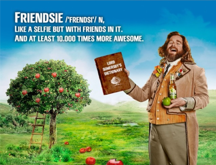 Somersby In A Frenzy Over New Global Campaign