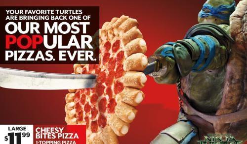 Pizza Hut Powers Teenage Mutant Ninja Turtles In Blockbuster Movie Partnership