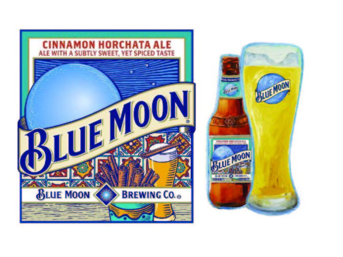 Blue Moon Brewing Company Introduces Blue Moon Cinnamon Horchata Ale