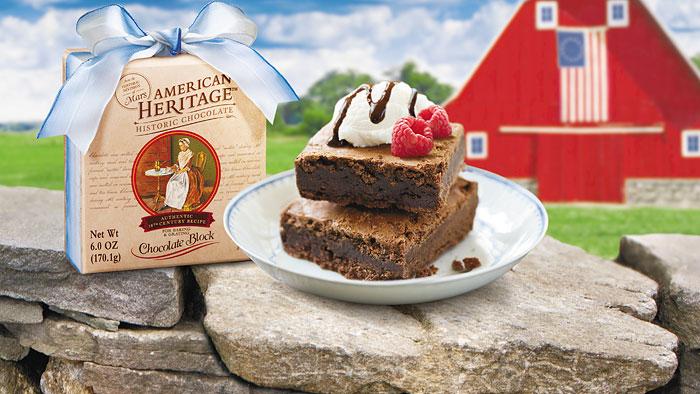 American Heritage Chocolate Serves Up Brownies On July 4