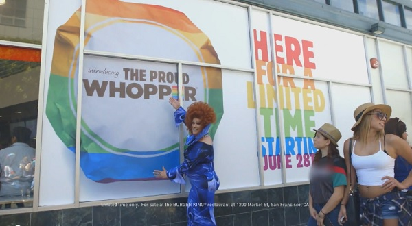 Burger King Creates Rainbow-Wrapped 'Proud Whopper' To Celebrate LGBT Pride