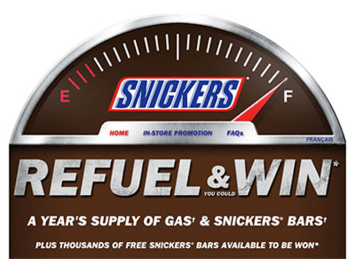 Snickers Tests How Far People Will Go For Free Fuel