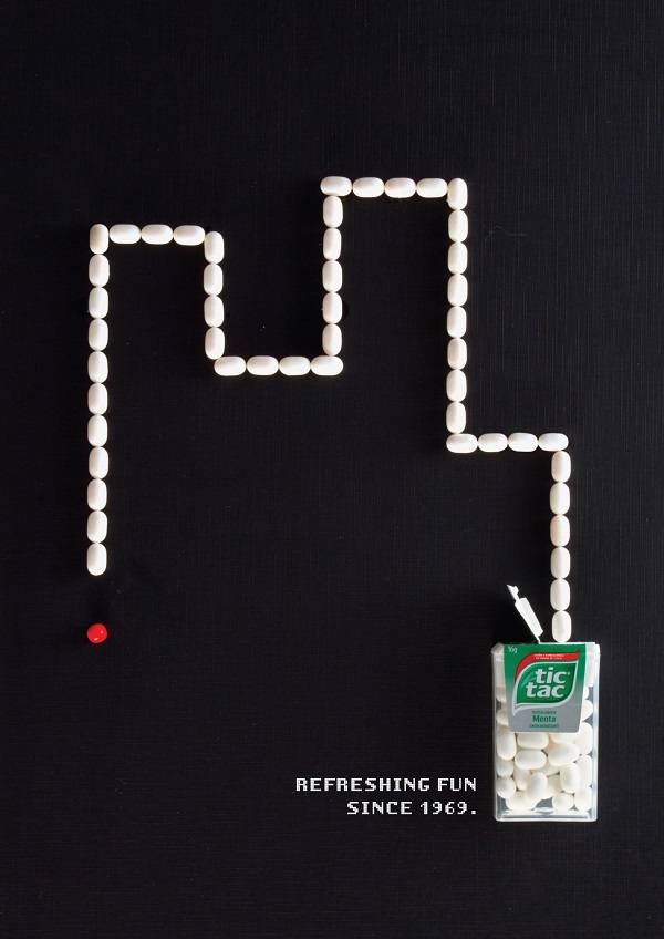 Playful Tic Tac Ads Pay Homage To Retro Video Games