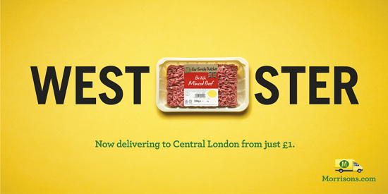 London Landmarks Get Pun-tastic Transformation in Morrisons Prints