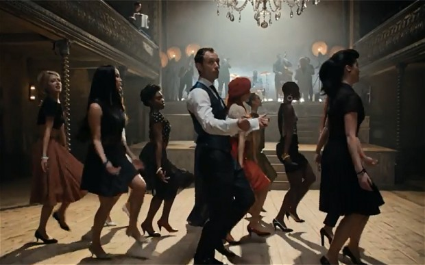 Jude Law & Giancarlo Giannini Dance the Madison for Johnnie Walker